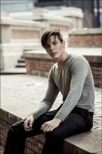 Beautiful spanish model boy