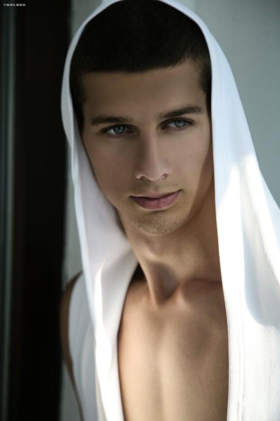 young czech male model