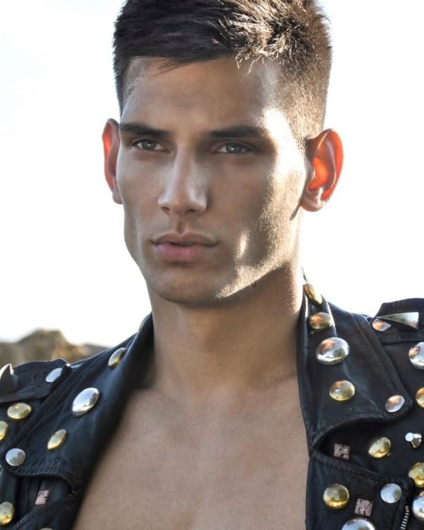 Sandy male model