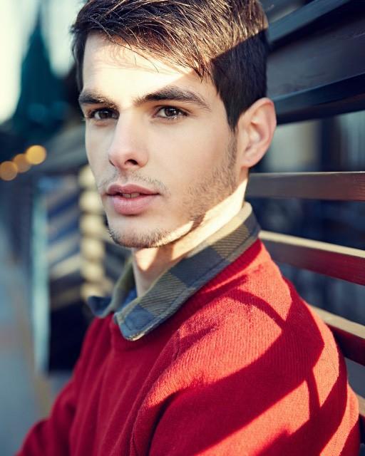 male model Nikola