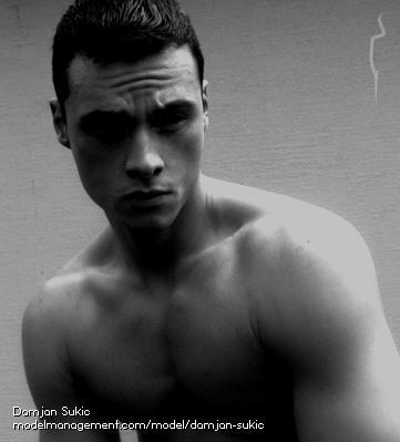 muscle male model from Slovenia