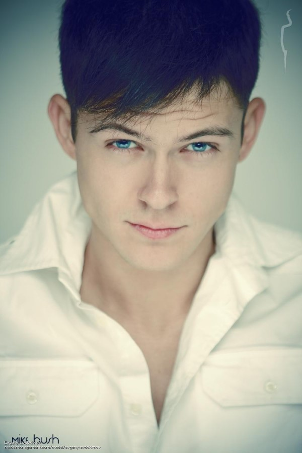 beautiful russian male model