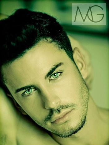 very beautiful slovenian man