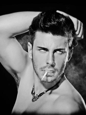 beautiful slovenian male model