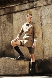 Bulgarian male model David