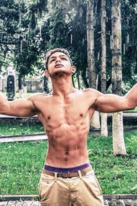Muscle boy from Romania