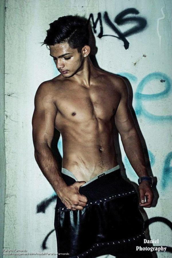 Romanian male model