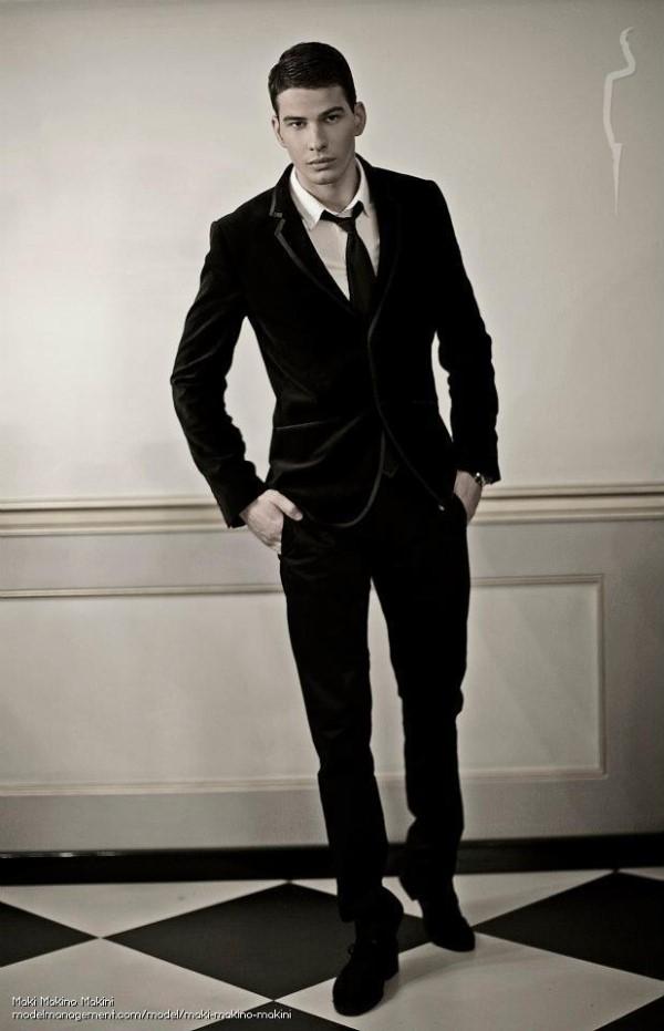 handsome model guy