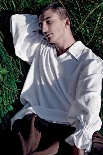 handsome bulgarian male model