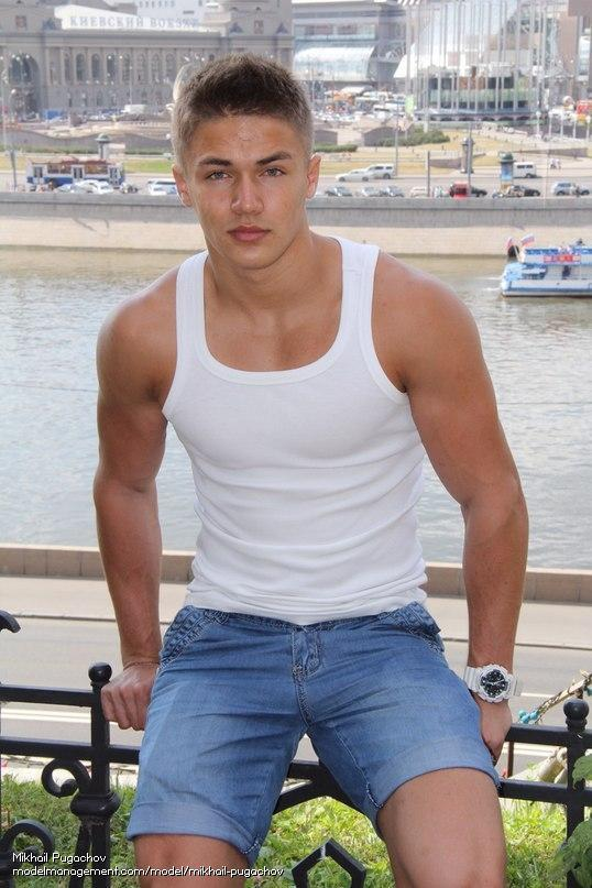 muscle guy from russia