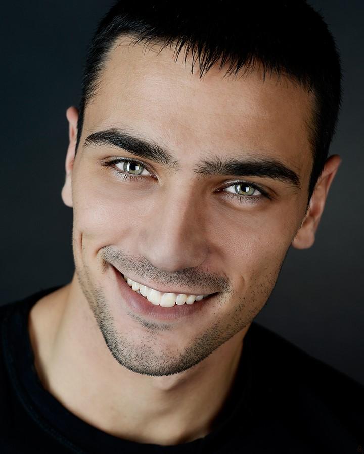 Bulgarian male model Petar