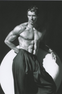 fashion muscle male model Rado