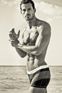 Very handsome muscle man Rado