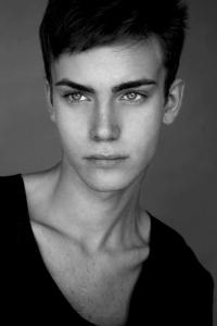Slovakian male model Roman
