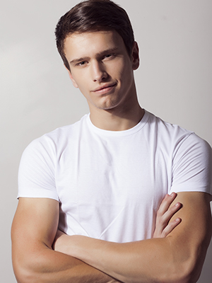male model from Slovenia