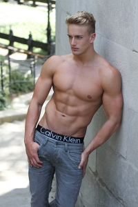 young bodybuilder from England