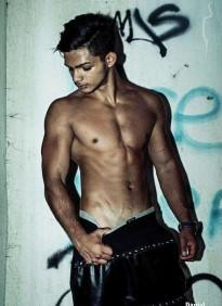 male model from Romania Ferariu Fernando