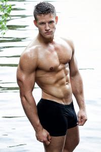 Swedish fitness model