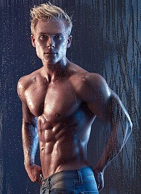Fredrik Wiland - model from Sweden