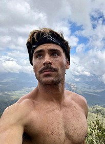 Zac Efron Instagram Selfies