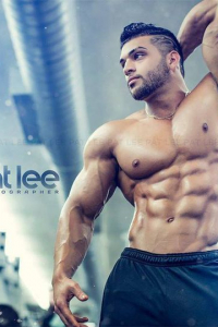 Muscled Man By Pat Lee