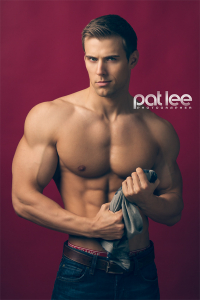 Handsome man by Pat Lee