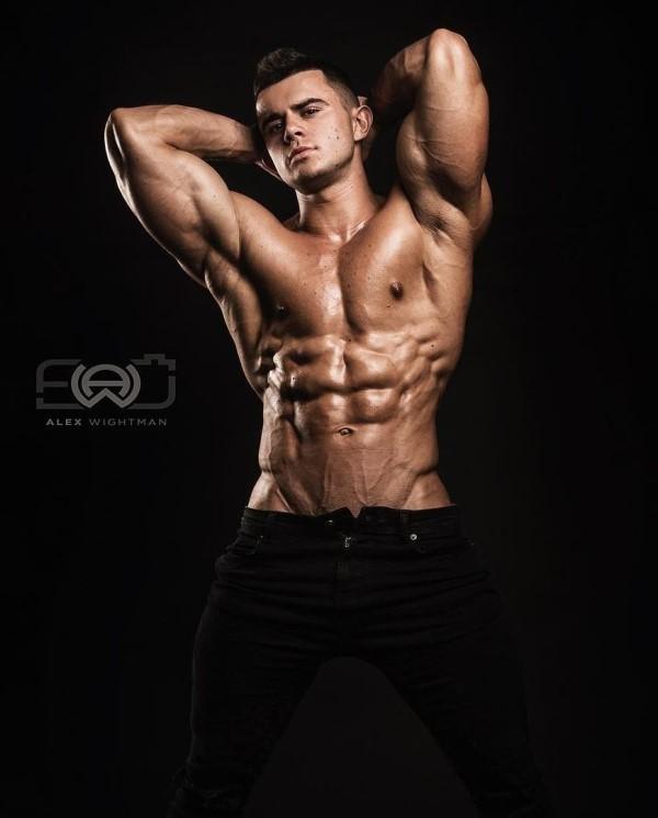 Mikhail Timoshin Russian model