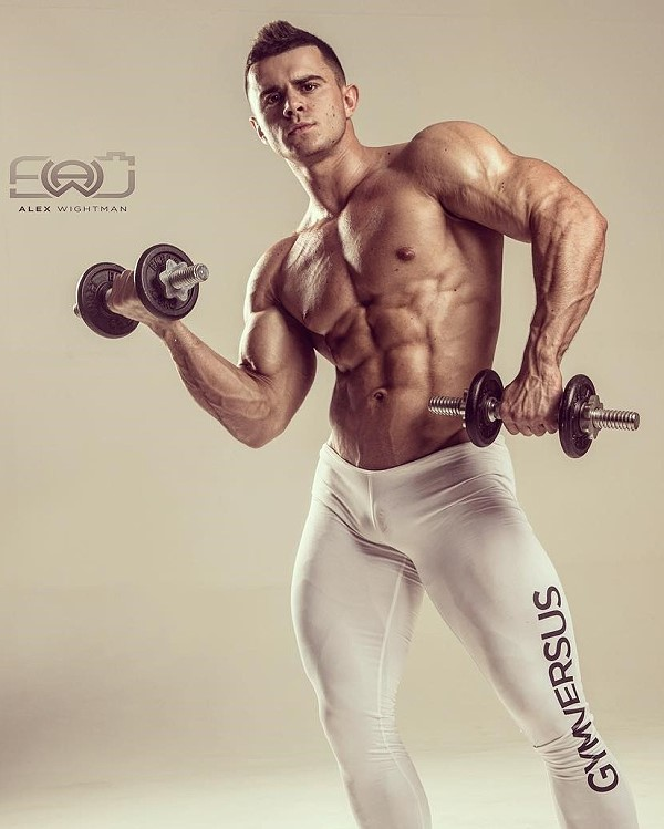 Mikhail Timoshin Russian bodybuilder
