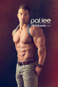 Muscled Guy By Pat Lee