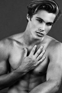 Handsome Mlae Model