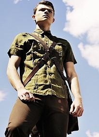 Young model guy David