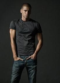 Slender male model from Bulgaria